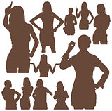 Womans Silhouettes