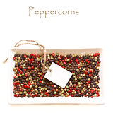 Peppercorns.