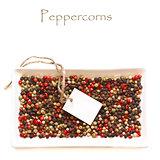 Peppercorns.