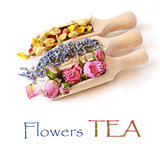Flowers tea.