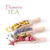 Flowers tea.