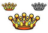 Luxury gold crown