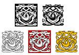 Dogs ornamental pattern in celtic style