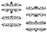 Floral headers and borders