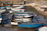 Boats at Leigh-on-Sea, Essex, England