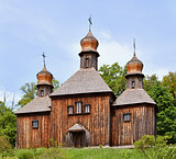 Wooden Christian Orthodox Church