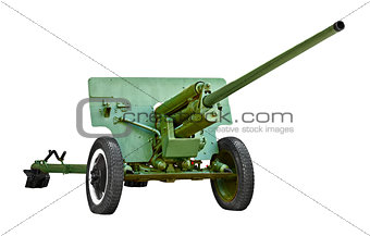 Russian artillery gun - World War II