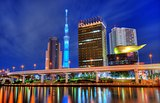 Tokyo Skyline at Asakusa