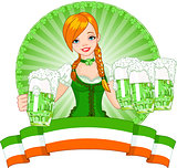 St. Patrick'€™s Day girl