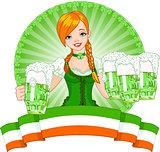 St. Patrick'€™s Day girl
