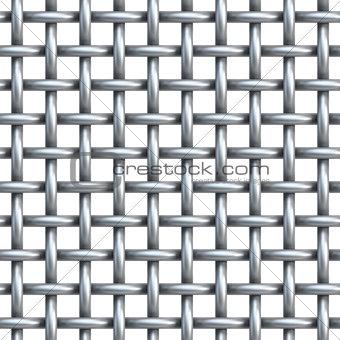 seamless texture of metal net