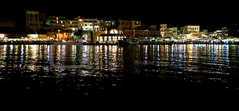 The city of Chania, promenade