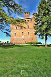 Grinzane Cavour Castle. Piedmont, Italy.