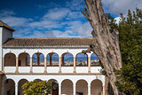 Pavillon of Generalife in Alhambra complex
