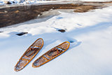 classic Bear Paw snowshoes