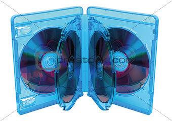 Blu Ray disc box