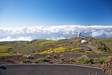 clouds and La Palma observatories