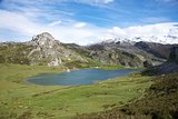 Ercina lake in Asturias