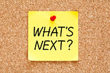 What is Next Sticky Note