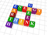 crossword 26 - energy, Earth, think, green