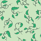 green seamless vine