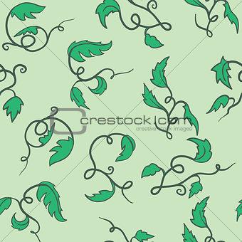 green seamless vine