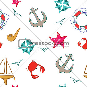 sea background cartoon