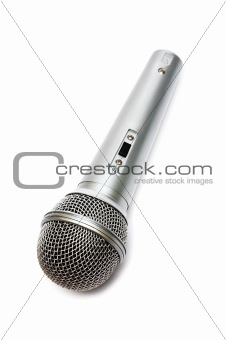 Microphone for a karaoke