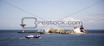 Cutter suction dredger 3
