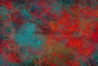 grunge abstraction