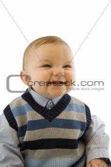 Smiling Baby Boy