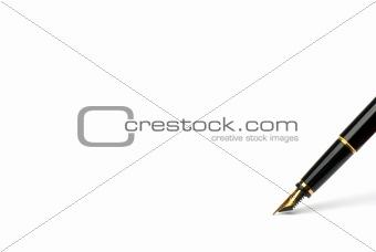 Exclusive pen.