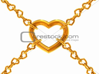 Chain of hearts