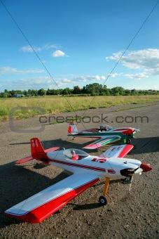 modern model aircrafts