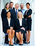 International business team