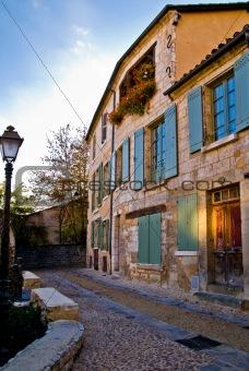 antique city building in Europe