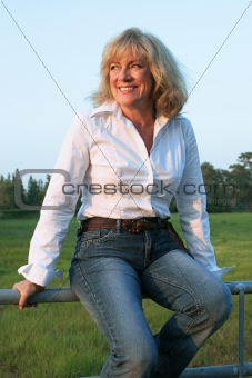 Country Western Woman 1