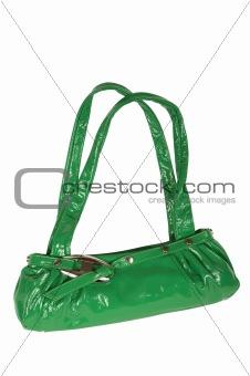 green female bag