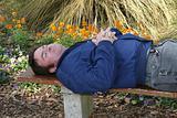 Asleep In The Garden