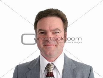 Attractive 40 YO Businessman  Headshot