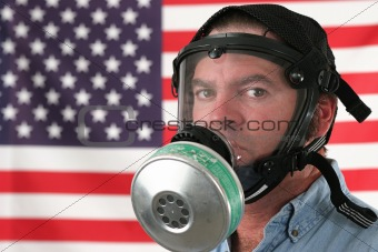 American Gas Mask Horizontal