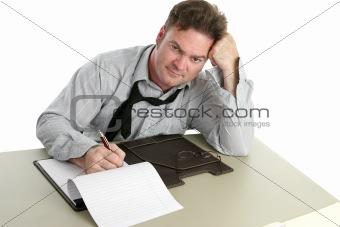 Office Worker - Disgruntled