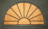 Doormat sun