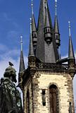 Prague&#39;s Church of Our Lady Before Tyn