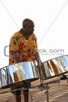 Caribbean Musician & Steel Drums