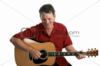 Folk Singer Amused