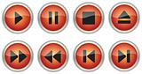 Colored control navigation buttons