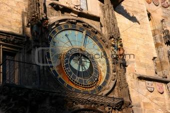 Prague astrological clock, Czech republic