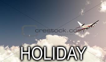 Plane Flying In Daylight 14