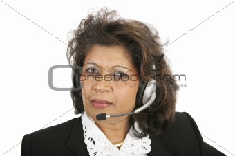 Caring Telephone Operator